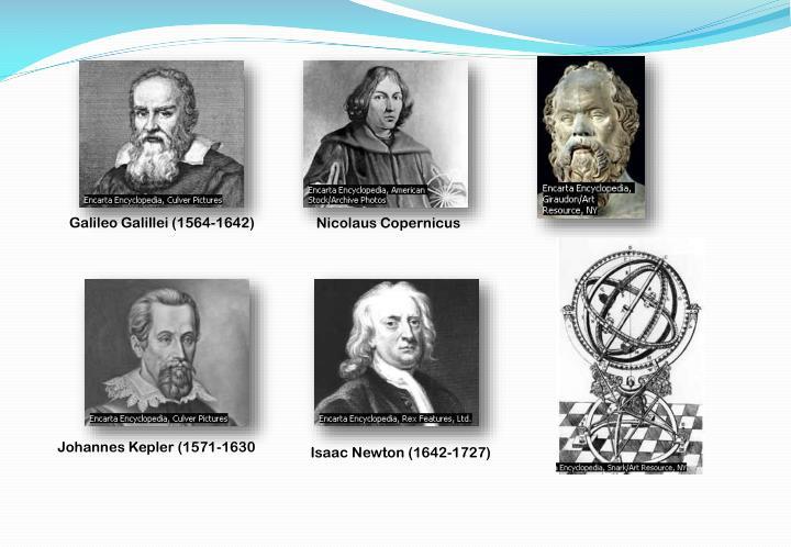 Galileo Galillei (1564-1642)