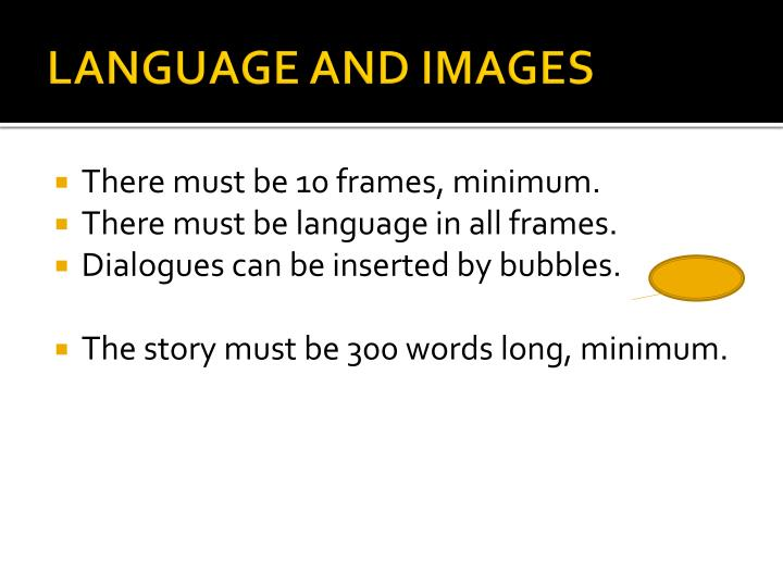 LANGUAGE AND IMAGES