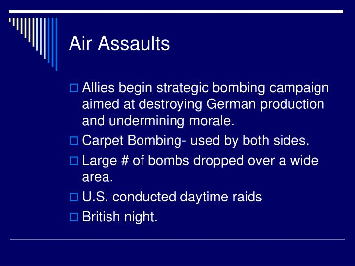 Air Assaults