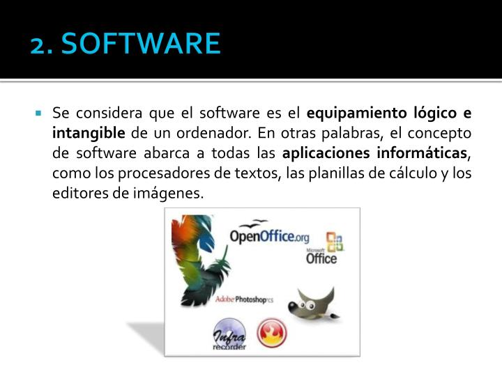 2. SOFTWARE