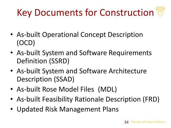 As-built Operational Concept Description (OCD)