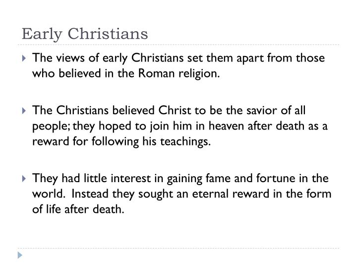 Early Christians