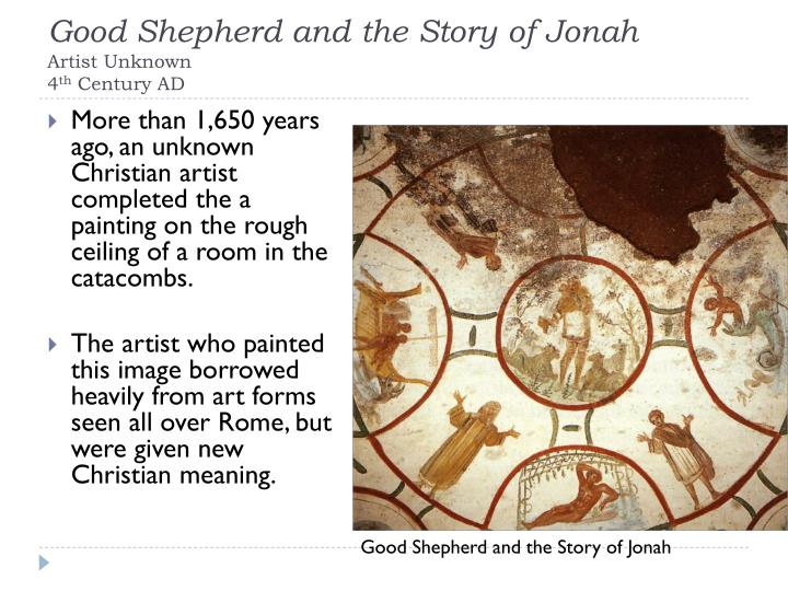 Good Shepherd and the Story of Jonah