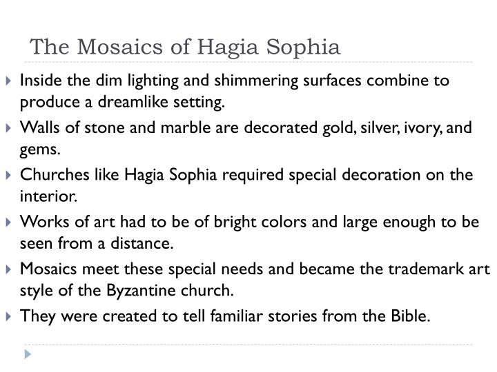 The Mosaics of