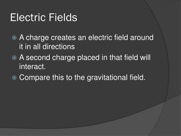 Electric fields1