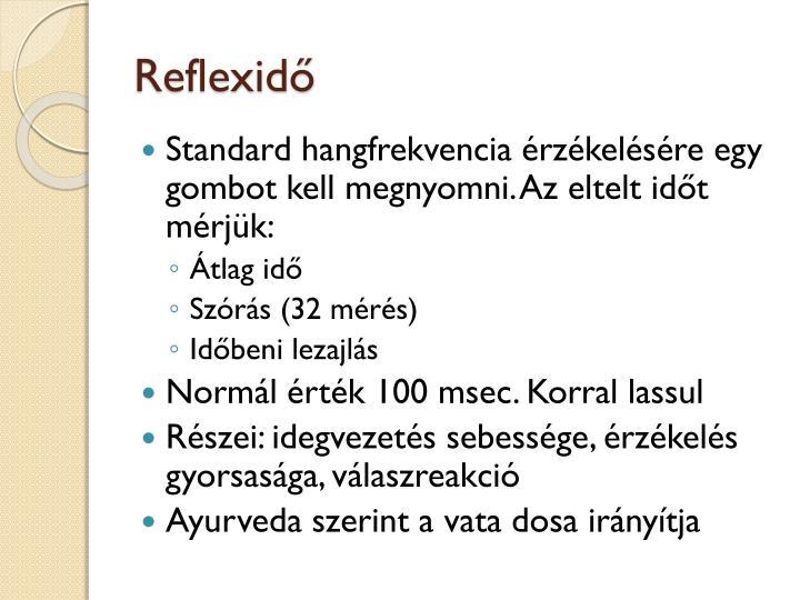 Reflexidő