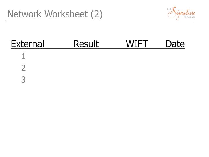 Network Worksheet (2)