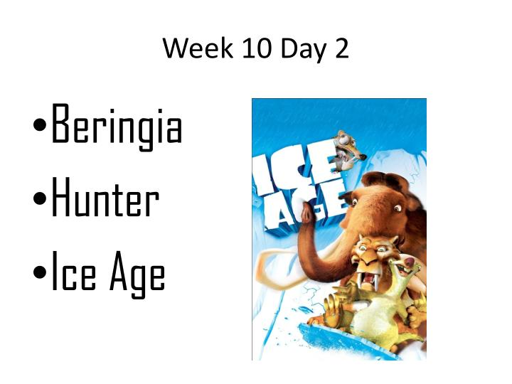 Week 10 Day 2