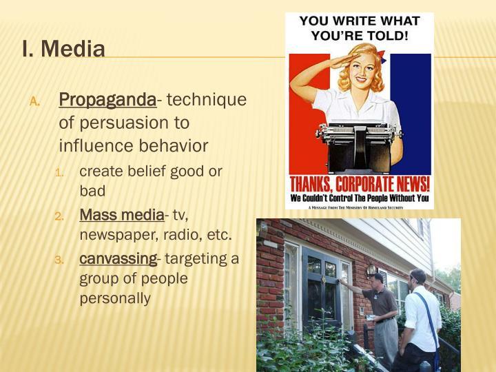 I. Media