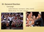 iii general election
