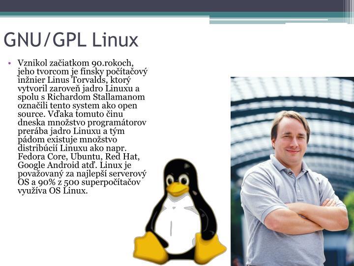 GNU/GPL Linux
