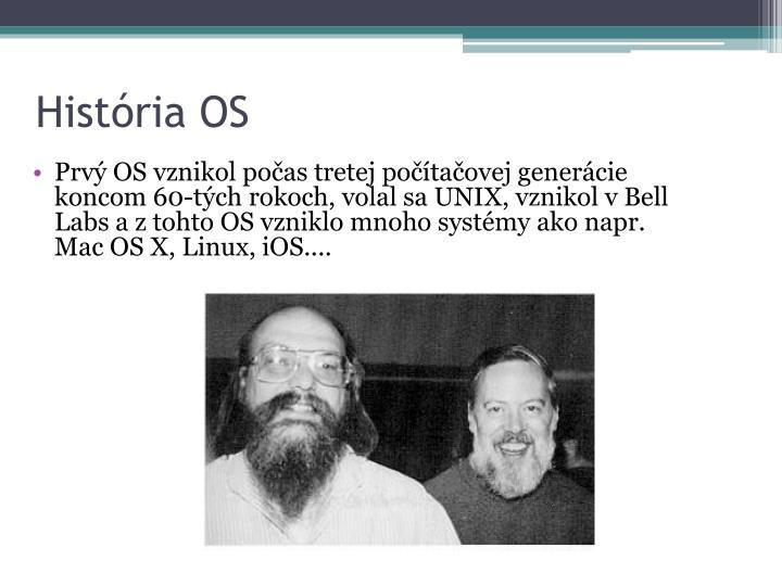 História OS