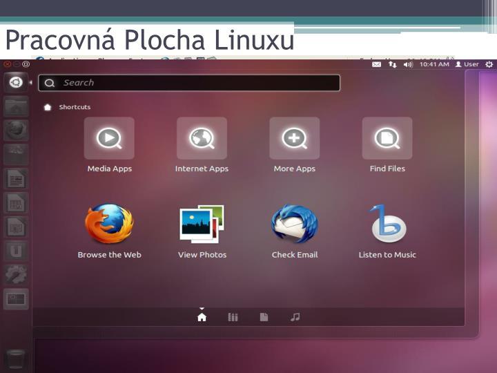 Pracovná Plocha Linuxu