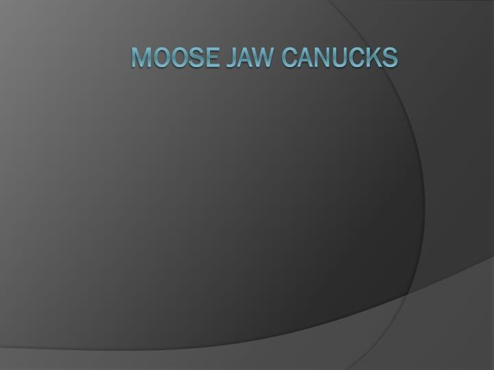 Moose jaw Canucks