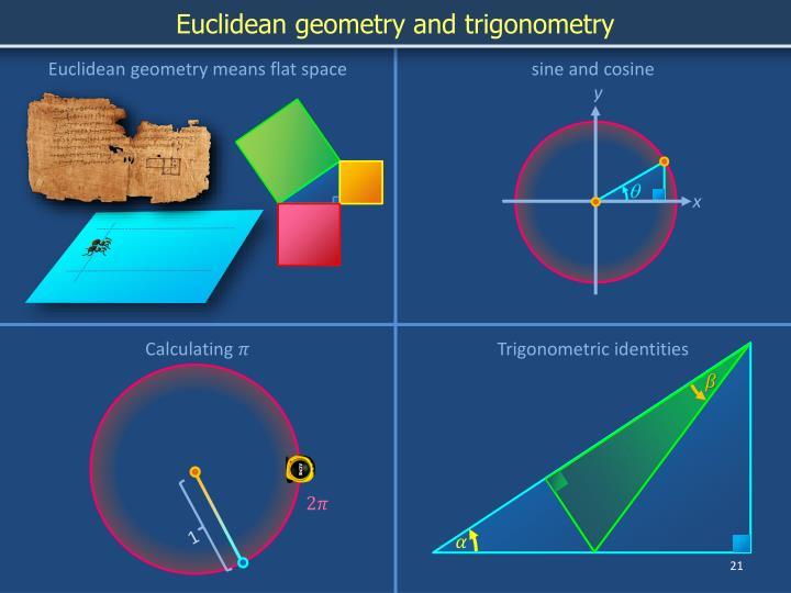 Euclidean geometry and trigonometry