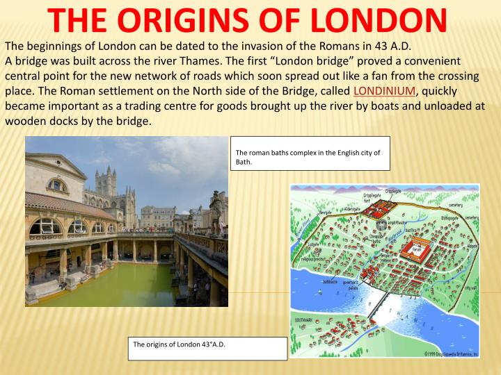 THE ORIGINS OF LONDON