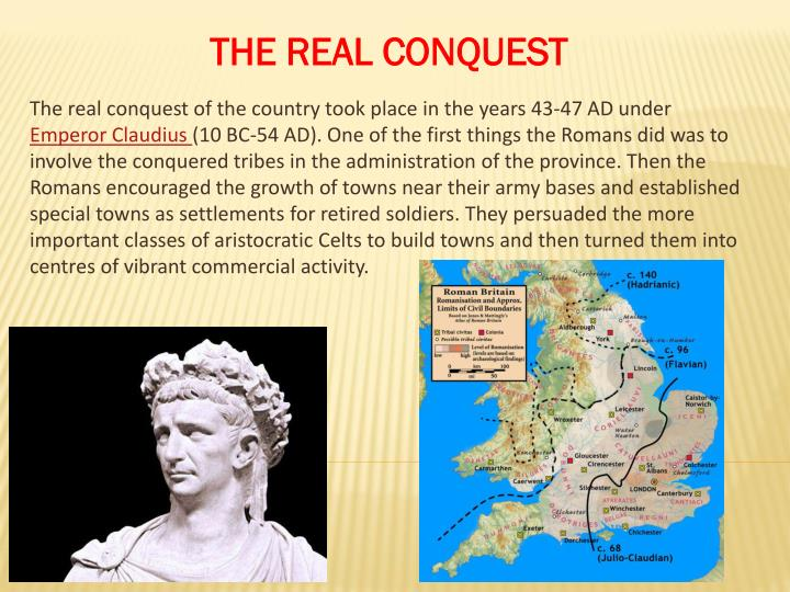 THE REAL CONQUEST