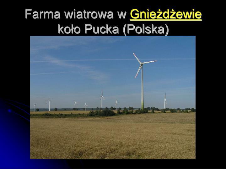 Farma wiatrowa w