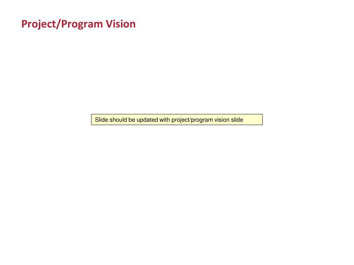Project/Program