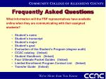 frequently asked questions11
