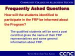 frequently asked questions15