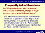 frequently asked questions17