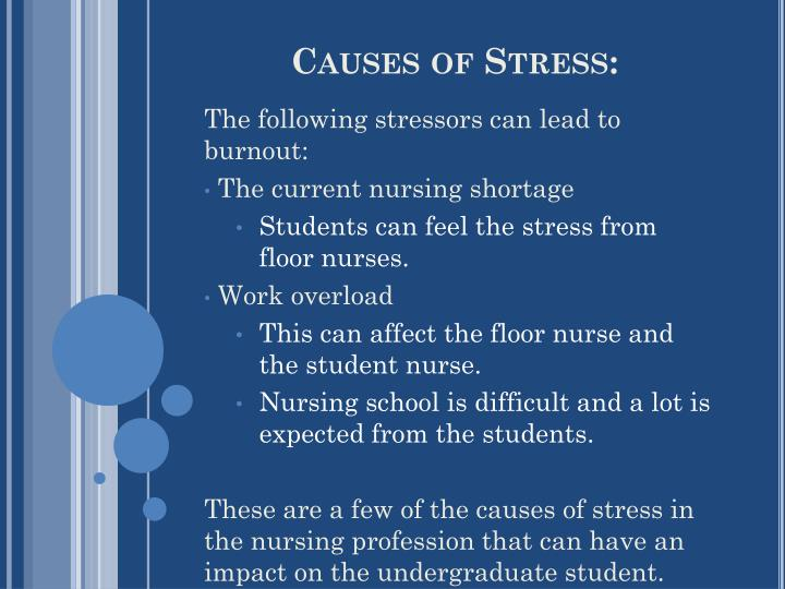Causes of Stress: