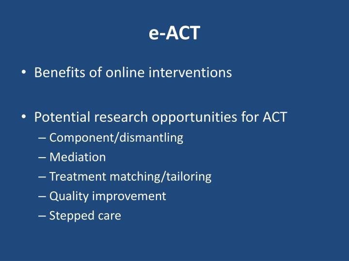 e-ACT