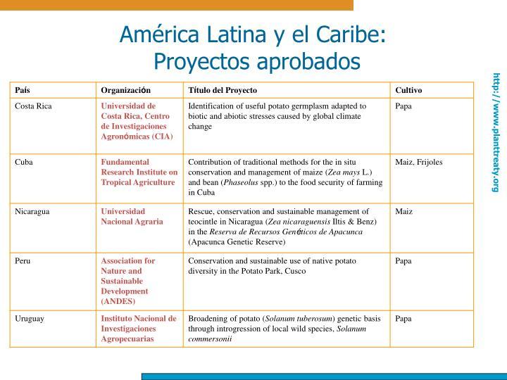 América Latina y el Caribe: