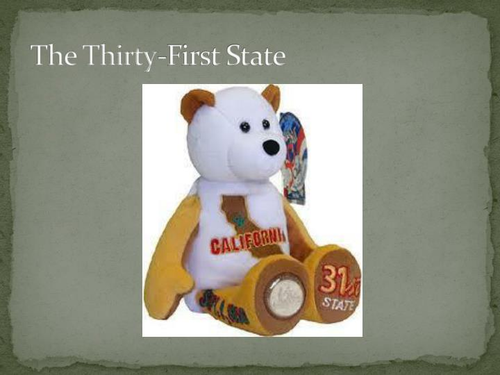 The Thirty-First State