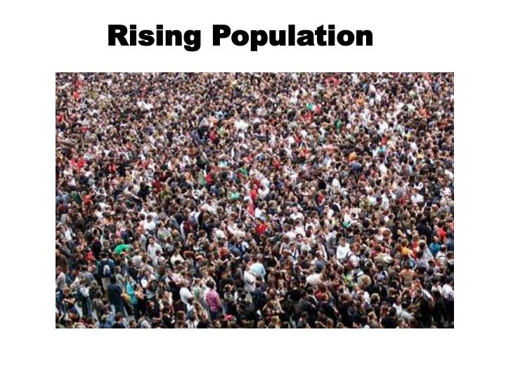 Rising Population