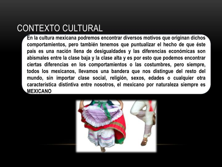 Contexto cultural