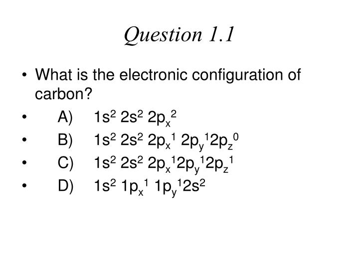 Question 1.1