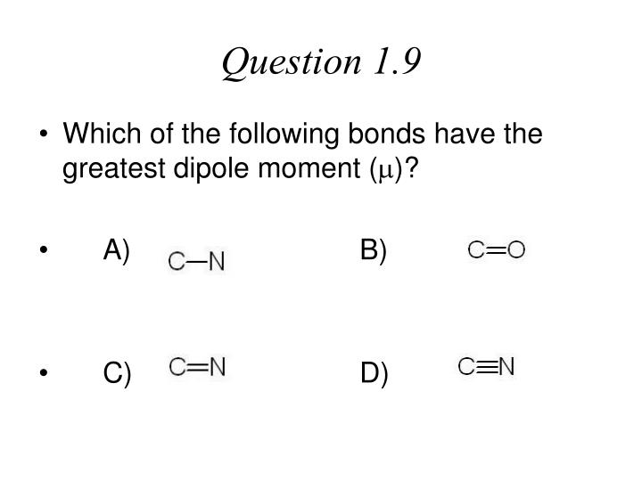 Question 1.9