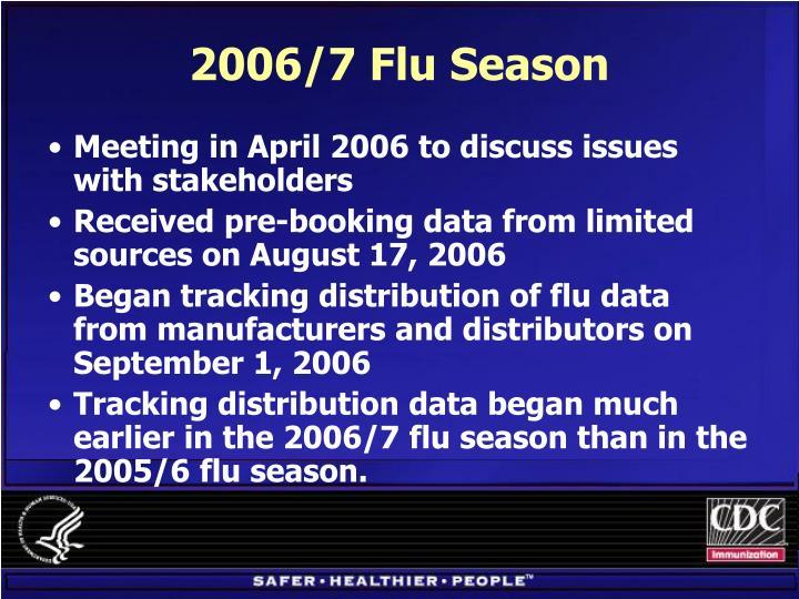 2006/7 Flu Season