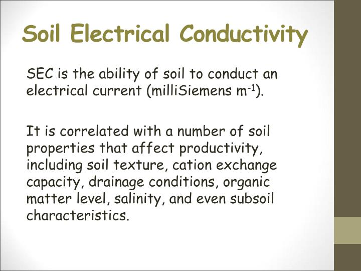Soil Electrical Conductivity