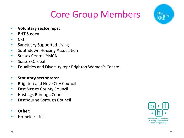 Core Group Members