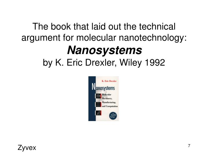 The book that laid out the technical argument for molecular nanotechnology: