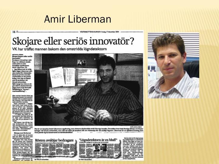 Amir Liberman