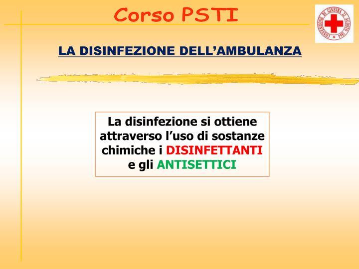 Corso PSTI