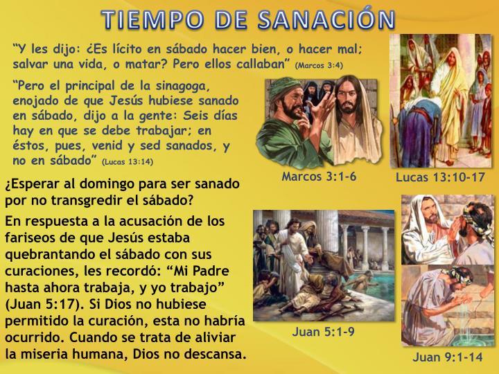 TIEMPO DE SANACIÓN
