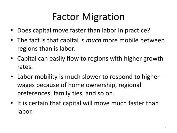 Factor Migration