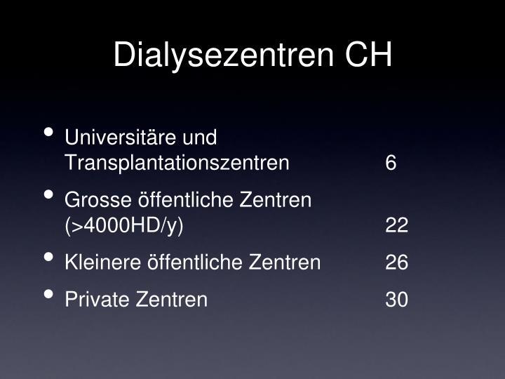 Dialysezentren