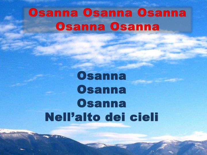 Osanna