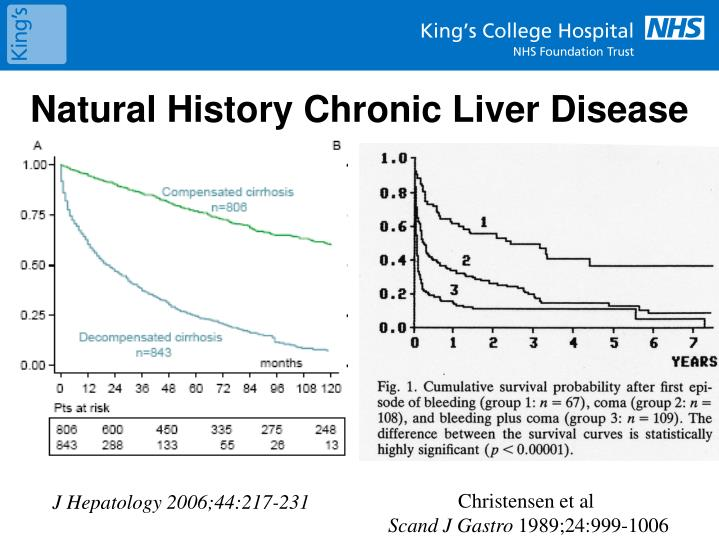 Natural History Chronic Liver Disease