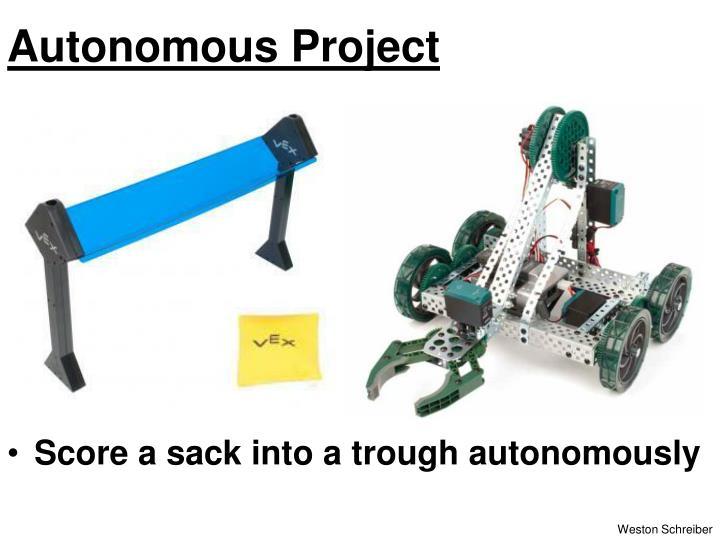 Autonomous Project
