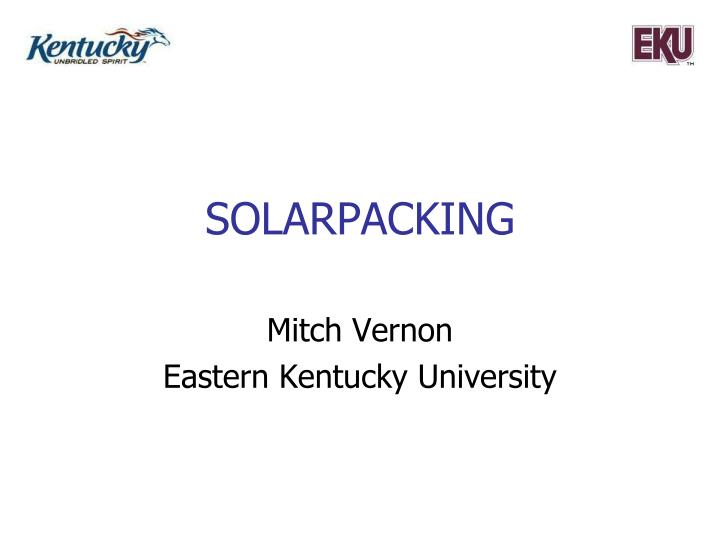 Solarpacking