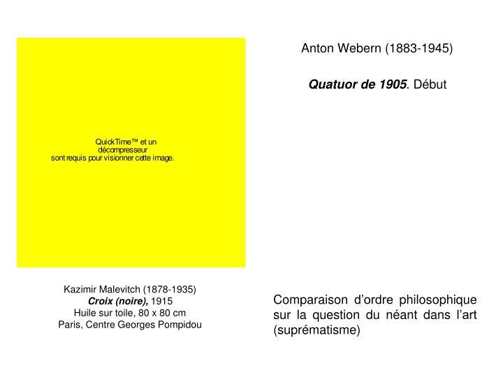 Anton Webern (1883-1945)