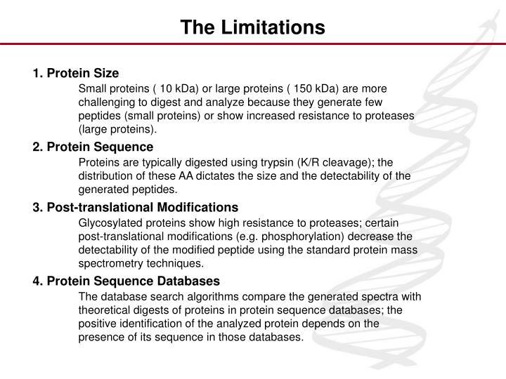 1. Protein Size