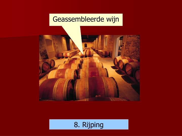 Geassembleerde wijn